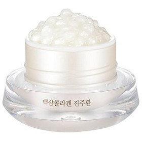 [ザ・フェイスショップ] The Face Shop 白参 コラーゲン パール カプセルクリーム White Ginseng Collagen Pearl Capsule Cream [並行輸入品]