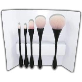 どのように-メイクアップブラシ 1 pcs プロ メイクブラシ ブラシセット チークブラシ アイシャドウブラシ 人工毛 エコ プロフェッショナル フルカップ 化粧品