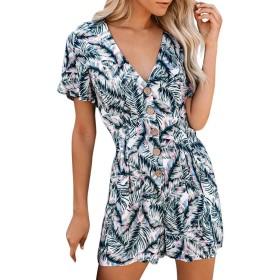 Feiscat ワンピース オーバーオール オールインワン サロペット ドレス フォーマル パンツドレス セットアップ シンプル ゆったり ワイドパンツ 大きいサイズ カジュアル 着痩せ 春 オフィス