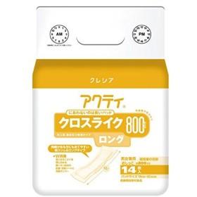 日本製紙クレシア アクティ パワー消臭パッド800ロング 14枚6P ds-1915462