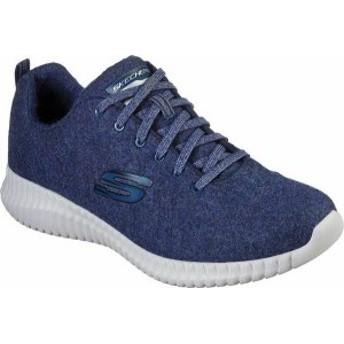 スケッチャーズ メンズ スニーカー シューズ Wash-A-Wool Elite Flex Swaledale Sneaker Navy