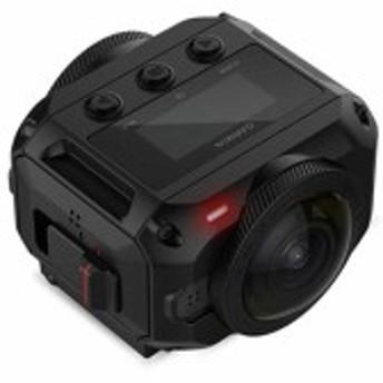 【中古即納】送料無料 GARMIN アクションカメラ VIRB 360 010-01743-10 ブラック 防滴・防水 4K