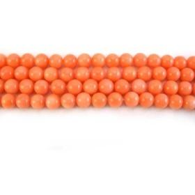 ハッピーボム Happy Bomb ピンク 珊瑚 コーラル 6ミリ 8ミリ 大粒 10ミリ 天然石 ビーズ バラ売り 家内繁栄 子宝 幸運 パワーストーン ブレスレット 作成用