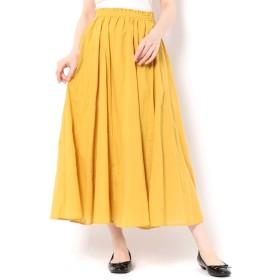 【サマンサモスモス/Samansa Mos2】 柄アソートボイルギャザースカート