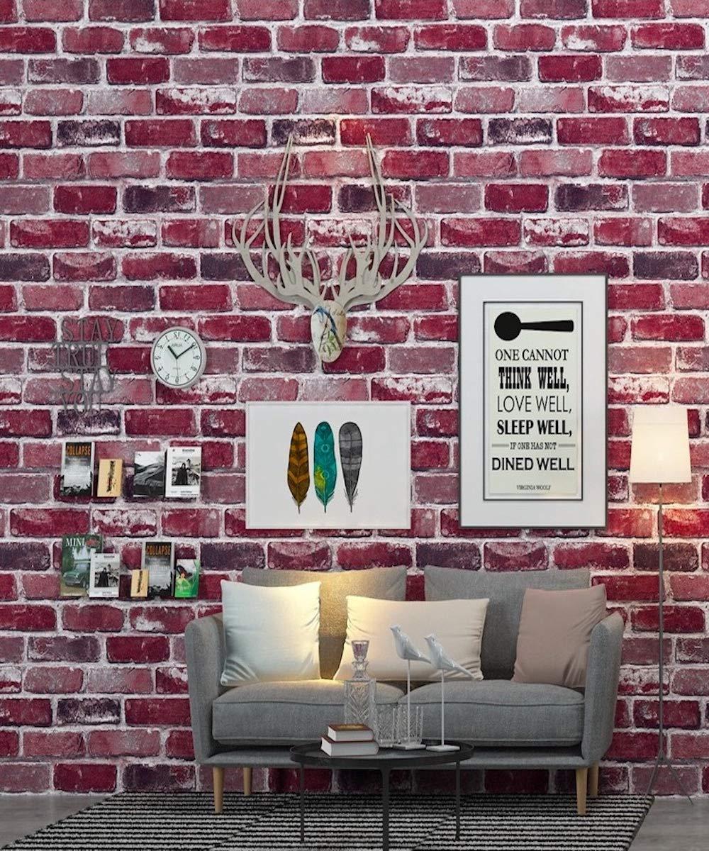 壁紙 アンティーク レンガ 3d スプリングレッド 通販 Lineポイント