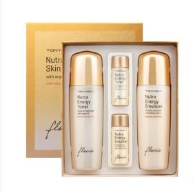 TONYMOLY トニーモリー フローリア・ニュートラ・エネルギー2種セット (Nutra Energy Basic Skin Care Set) 海外直送品