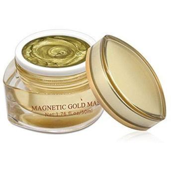 マスククリーム マグネットマスクゴールドシャイン磁気フェイスマスクミネラルリッチアンチストレスモイスチャライジングアンチエイジングポアクレンジング50 ml
