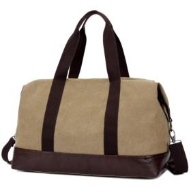 WANGXIAOLINYUNDONGBAO トラベルバッグ、ポータブル、マルチファンクション、フィットネスバッグ、短距離ラゲージバッグ、スポーツバッグ、45.5×21×33cm(4色) (色 : カーキ)