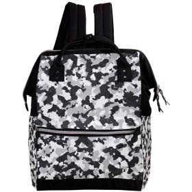CHENYINAN リュックサック リュック 学生 レディース 迷彩柄 メンズ 大容量 マザーズバッグ がま口 バックパック 通勤通学 デイバッグ かわいい おしゃれ
