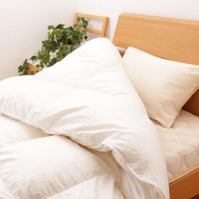 昭和西川 高級 羽毛布団 ポーランド産 マザーグース 95% インド超長綿 SEK 抗菌防臭加工 日本製 ネット限定販売 EC3245 (本掛け1.1kg)