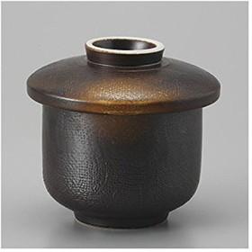 茶碗蒸しの食器 焼締め蒸し碗 日本製 美濃焼 業務用 7a152-2-77f