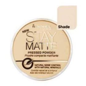 Rimmel Stay Matte Natural Shine Control Pressed Powder Silky Beige (2-Pack) (並行輸入品)