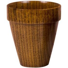 山下工芸(Yamasita craft) 木製スタッキングカップ 目摺り 175ml
