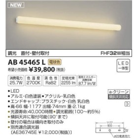 AB45465L 電球色LEDブラケット(グリーン購入法適合製品)