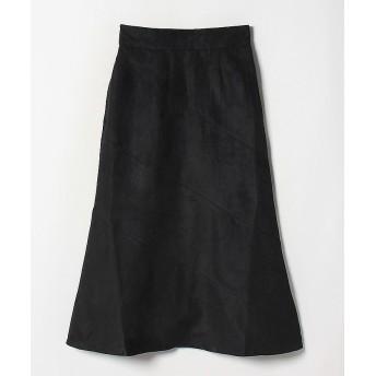 フェイクスエードマーメイドスカート