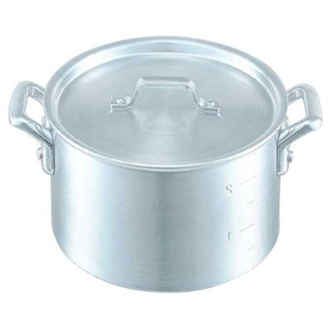 仔犬印 厚底アルミ製 半寸胴鍋 目盛付 18cm 53018