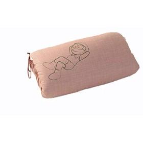おたふくわた のび太のお昼寝座布団 (桃)