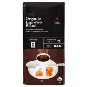 Archer Farms Organic Espresso Blend Whole Bean Coffee Dark Roast, 10 OZ (One Pack)