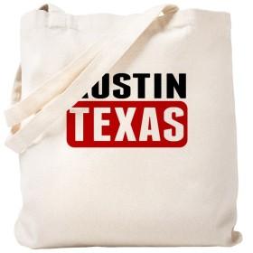CafePress–Austin Texas–ナチュラルキャンバストートバッグ、布ショッピングバッグ S ベージュ 1613741223DECC2