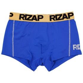 ライザップ メンズ パンツ ボクサーパンツ 無地 前閉じ RIZAP LLサイズ ブルー