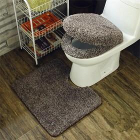 LY-Vigor トイレマット 洗浄暖房用 洗浄便座 カバーセット 3点セット おしゃれ 無地 シンプル モダン 乾度良好