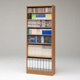 【国産】本格書棚 本棚(幅90 高さ178) エースラック ART1890P1.5HC MB ミディアムブラウン