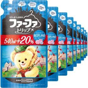 【ケース販売】 ファーファ 濃縮柔軟剤 スコットランド フローラルソープの香り 詰替 650ml×12個