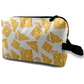 化粧ポーチ 黄色 チーズ 収納ポーチ 化粧バッグ 多機能ポーチ 大容量 小物入れ 軽量 出張 旅行用品 バスルームポーチ トラベルポーチ 防水仕様 洗面用具 男女兼用