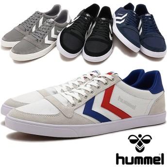 【日本正規品】hummel ヒュンメル スニーカー 靴 メンズ レディース スリーマー スタディール キャンバス ロー (HM63112K)