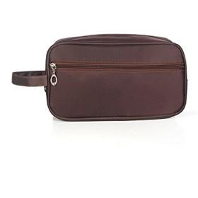 FenBuGu-JP 収納バッグ化粧バッグメイクアップバッグポーチバッグ男性用袋(ブラウン)