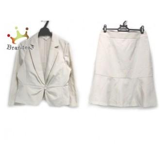スーナウーナ SunaUna スカートスーツ サイズ38 M レディース アイボリー 新着 20190909