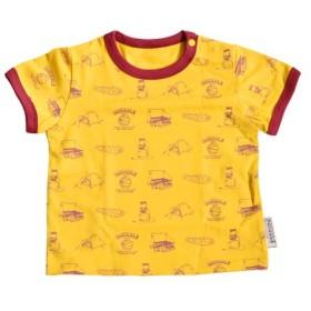 DRIBBLE T-SHIRTS ドリブル Tシャツ [ CAMP/90cm ] ベビー服 半袖Tシャツ