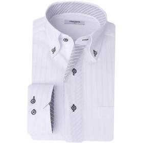 (ビジネススタイル アルフ) businessstyle alfu 長袖 ワイシャツ Yシャツ メンズ/al-ml-sbu-1109-L-41-83-AT351-22-AW17