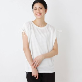 SHOO・LA・RUE Mrs. UVカット ストレッチ素材トップス