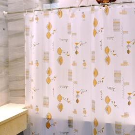 浴室のシャワーカーテン 世帯の浴室の仕切りのカーテン、浴室のカーテンポリエステル防水厚くシャワーのカーテンべと病のシャワーカーテン浴室の仕切りのシャワーカーテン Pevaのシャワーカーテン (Color : 80180CM)