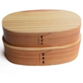 DLYDSS 日本のダブル弁当箱 - ヴィンテージのお弁当箱 - シンプルなお弁当箱、寿司箱の容量1000ml - レストラン、家族、学生用 (Color : Wood color)