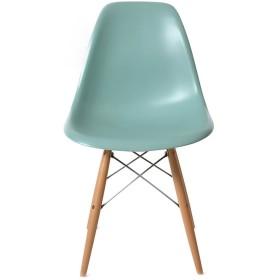 DSW マリンブルー サイドシェルチェア/Shell Side Chair イームズ PP(強化ポリプロピレン)