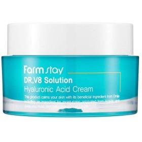 ファームステイ[Farm Stay] Dr.V8 ソリューションヒアルロン酸クリーム 50ml / Hyaluronic Acid Cream (美白&しわ防止)