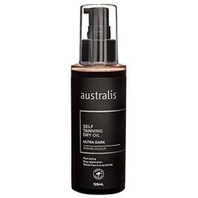 [Australis ] オースト超暗いセルフタンニングドライオイル125ミリリットル - Australis Ultra Dark Self Tanning Dry Oil 125ml [並行輸入品]