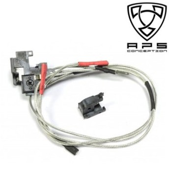 APS A/B高通電 シルバーコードと耐熱スイッチセット Ver.2 REAR [並行輸入品]