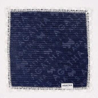[マルイ] 【27×27cm】ニットレースハンカチ(レディース)/アガタ パリ(AGATHA PARIS/雑貨)
