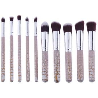 10本 化粧筆 アイシャドーブラシ メイクブラシセット パウダーブラシ ァンデーションブラシ フェイスブラシ メイクアップブラシ