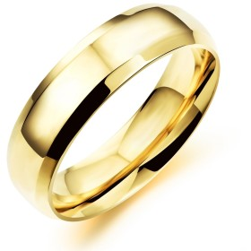 HooAMI ペアリング 唯一の愛 【刻印可】 リング レディース 指輪 シンプル ステンレス ゴールドメッキ 日本サイズ:19号 18.9mm-1個