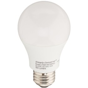 LED 9W / 60W交換a19暖白色( 2700K )調光機能付きライト電球、エネルギースター認定