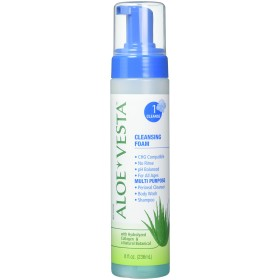 Aloe Vesta 3-n-1 Cleansing Foam 8 oz, 12-Packs by ConvaTec