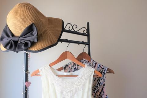真夏のファッション