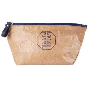 デュポン紙旅行洗濯ポータブル収納袋、洗濯袋化粧品バッグ旅行用品-L24  16  12CM(カラー:ペーパーイエロー)