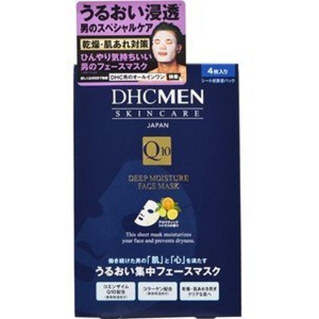 DHC MEN ディープモイスチュア フェースマスク 4枚入り