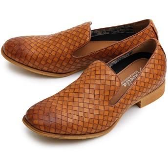 glabella グラベラ メンズ シューズ スリッポン イントレチャート オペラスリッポン カジュアル ローカット オペラパンプス 靴 glbt-048