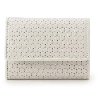 ヒロコ ハヤシ HIROKO HAYASHI CARDINALE(カルディナーレ)ミニ三つ折財布 (ホワイト)